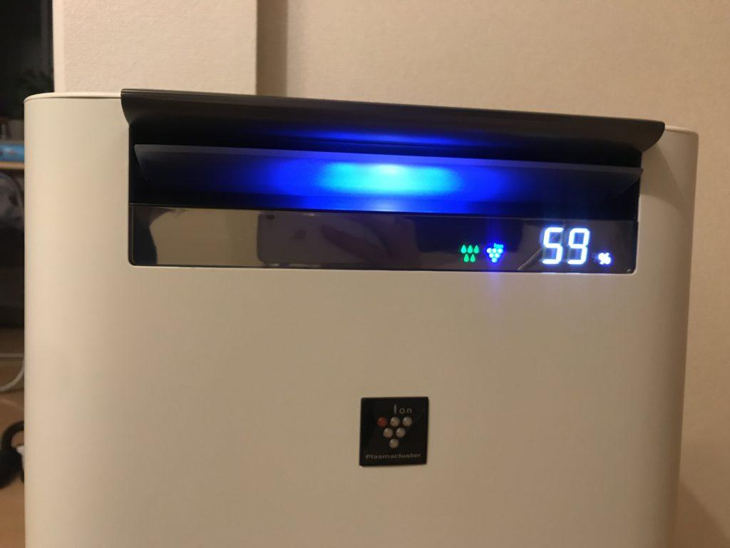 冬に最適な湿度は50%から60%