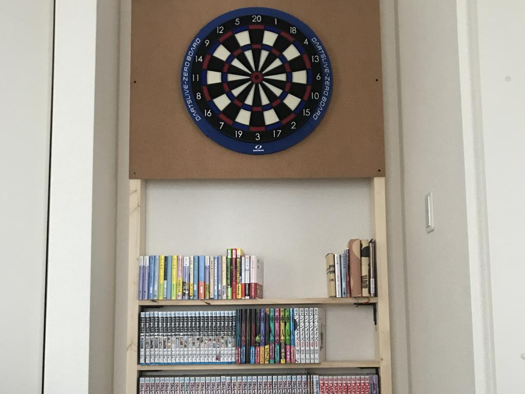 ディアウォールで最高の本棚を作りました
