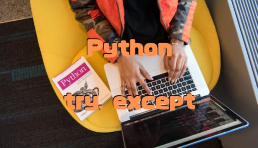 【Python】try exceptでキャッチした例外の行数を出力